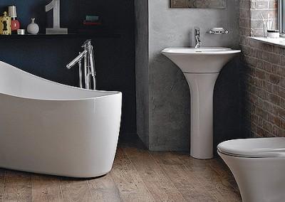 Britton Curved Bathroom Suite