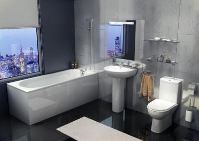 Tavistock Micra Bathroom Suite